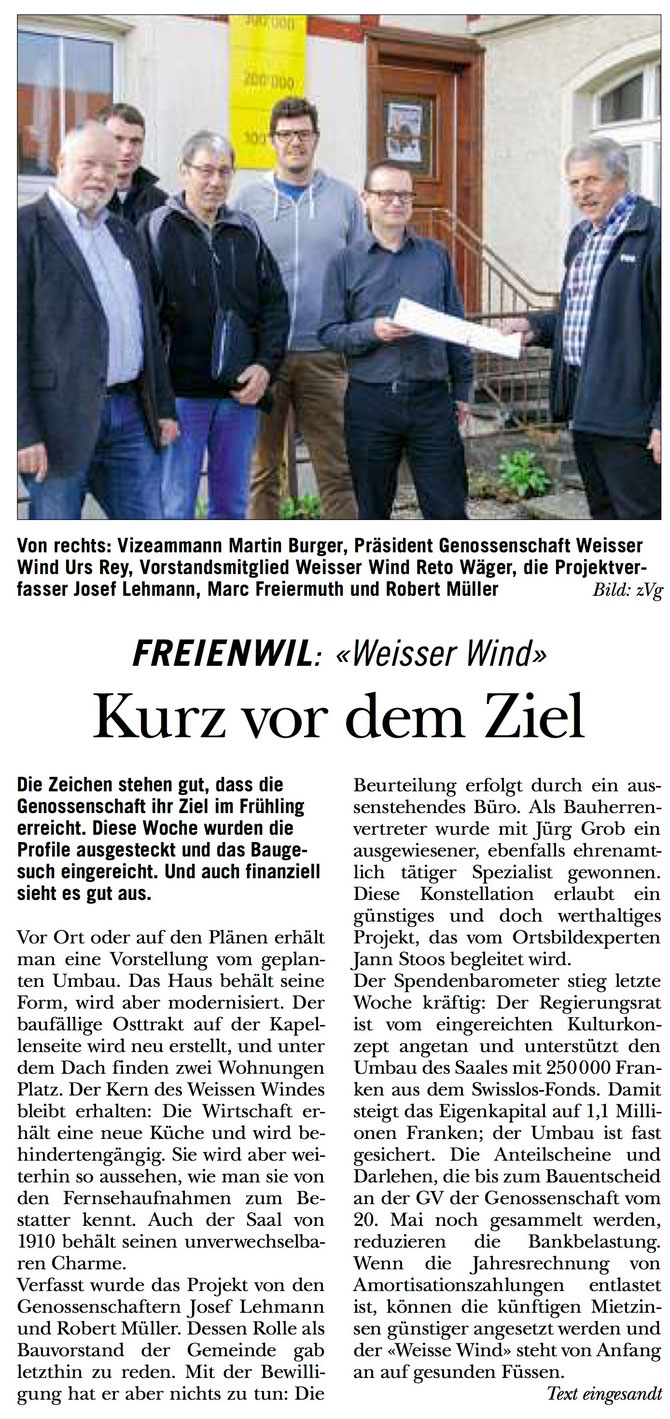Rundschau, 7. April 2016
