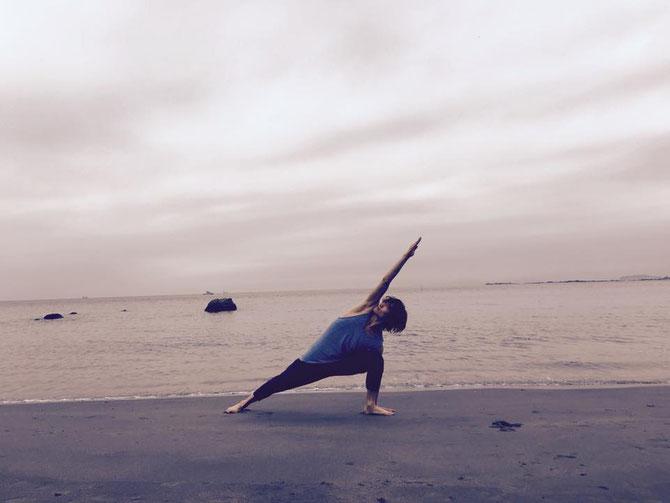 アシュタンガヨガ ウッティタパールシュヴァコナーサナ合田賢二 ヒョニ ひょに ごうだけんじ ゴウダケンジ yoga ヨガ よが はじめてのアシュタンガヨガ