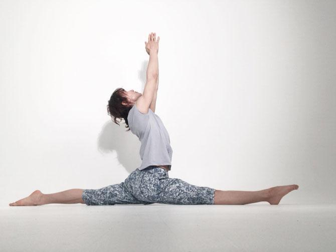 合田賢二 ヒョニ ひょに ごうだけんじ ゴウダケンジ yoga ヨガ よが 前後開脚 ハヌマーンアーサナ 股関節ほぐしフローヨガ