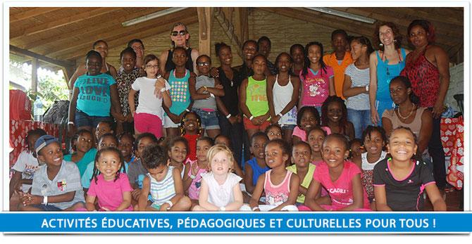 """Amaryllis Outre-Mer """"Activités éducatives, pédagogiques et culturelles pour tous"""""""