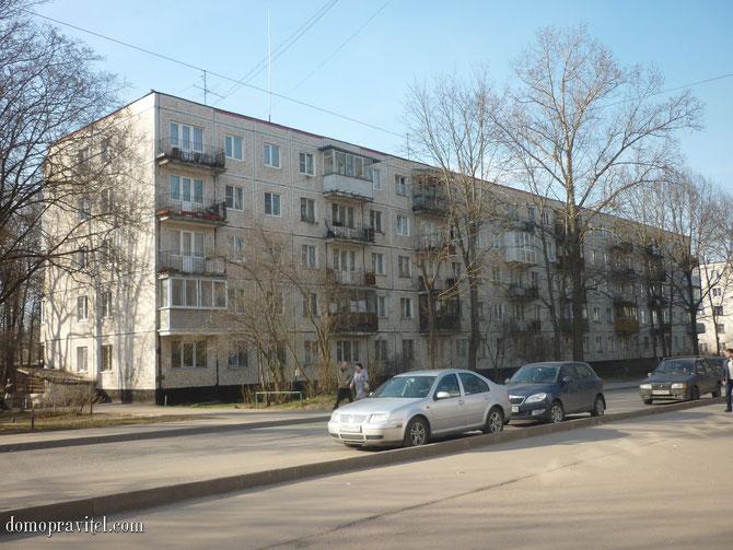 Дом на Урицкого 26 в Гатчине