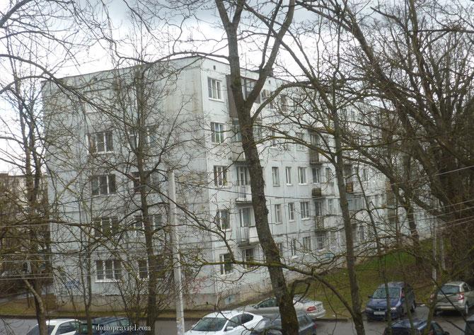 Дом на Урицкого 3 в Гатчине