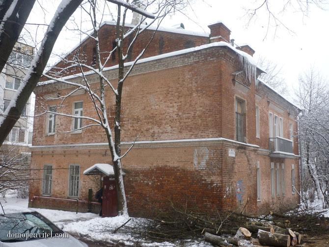 Дом на Радищева 26 А в Гатчине