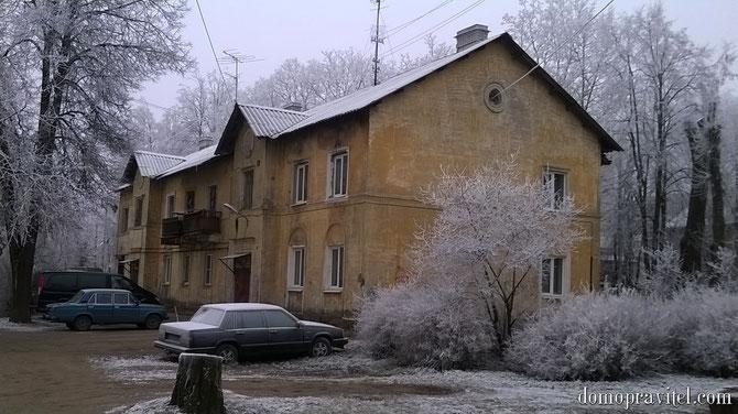 Дом по улице Карла Маркса 5 в Гатчине