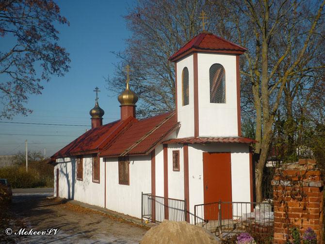 Храм в Русско-Высоцком