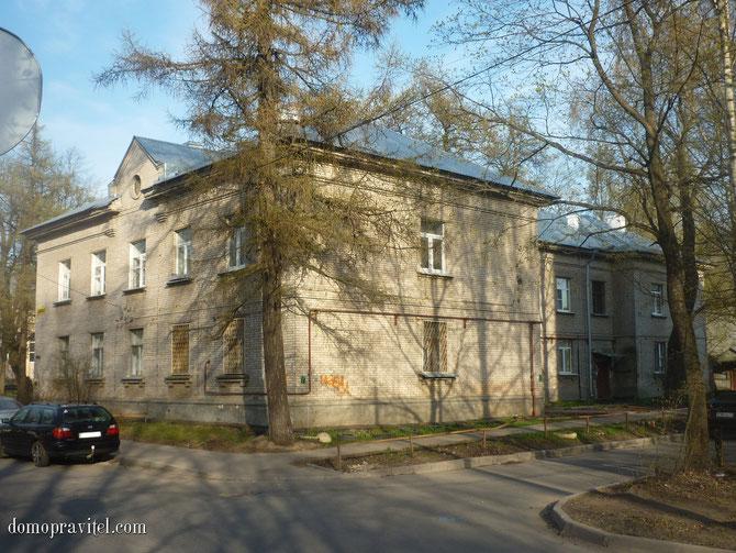 Дом по улице Карла Маркса 20 в Гатчине
