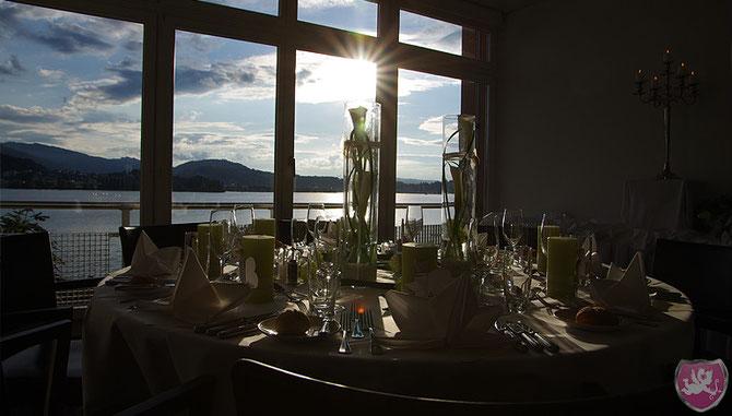 Hotel Hermitage Luzern DJ Hochzeit Benz