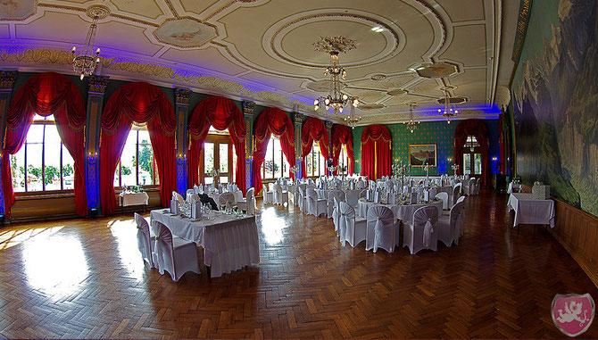 Hotel Seeburg Luzern Panoramasaal Hochzeit Heiraten Wedding DJ Dubi