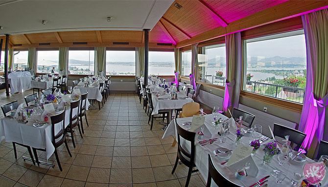 Restaurant Johannisburg Altendorf Hochzeit Heiraten Wedding Switzerland DJ Benz