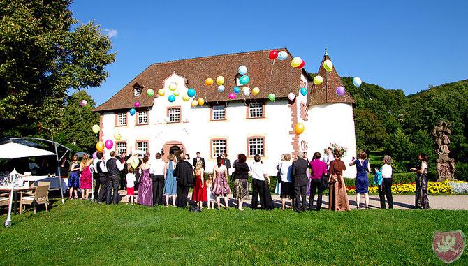 Wasserschloss Inzlingen Hochzeit Heiraten DJ Benz