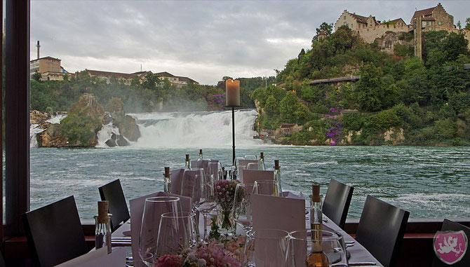 Schlössli Wörth Neuhausen am Rheinfall Hochzeit Heiraten Wedding DJ Benz