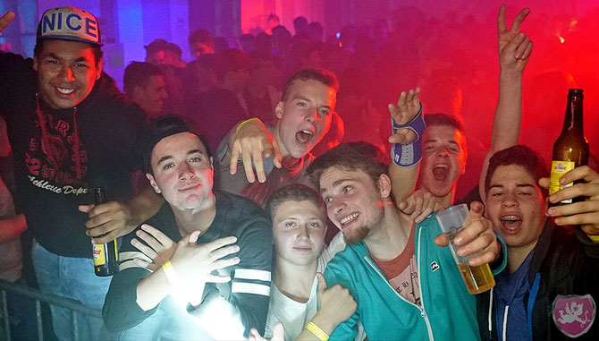 Sänderparty 2015 DJ Dubi DJ Benz