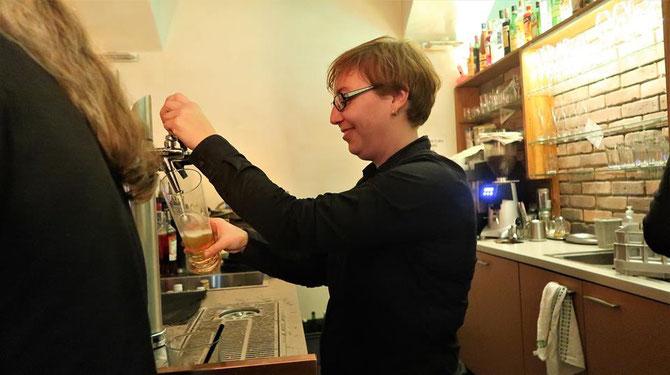 Chefin Caro Vanas- Bar Zweistern pic @ Annemarie Sperlich