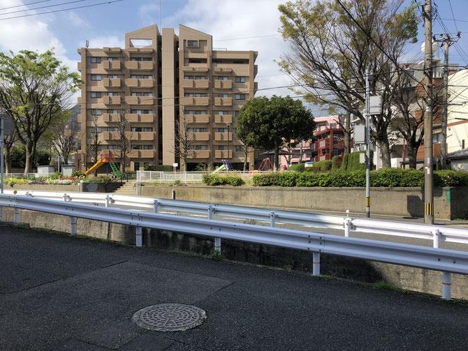門司区の東新町公園