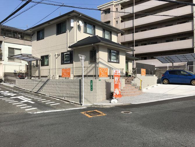 北九州市の気功整体院ラサンテの外観写真