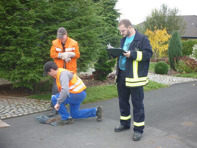 Hydrantenüberprüfung