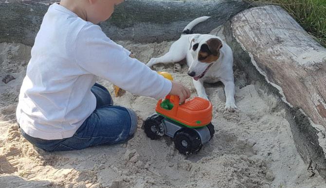 Sandkasten Freunde