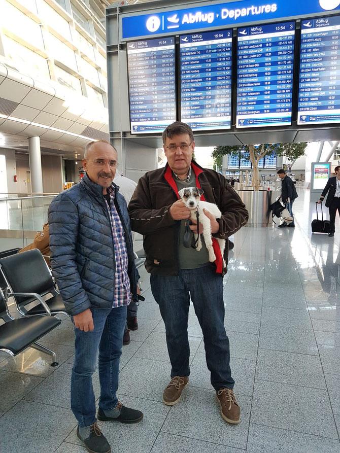 Als letzte hat uns heute Hanni in die Türkei verlassen.