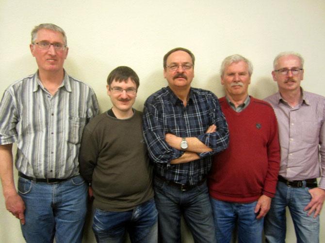 Carl-Josef Gleitze, Markus Bienert, Heinz Okos, Jan Fischer, Andreas Flemnitz