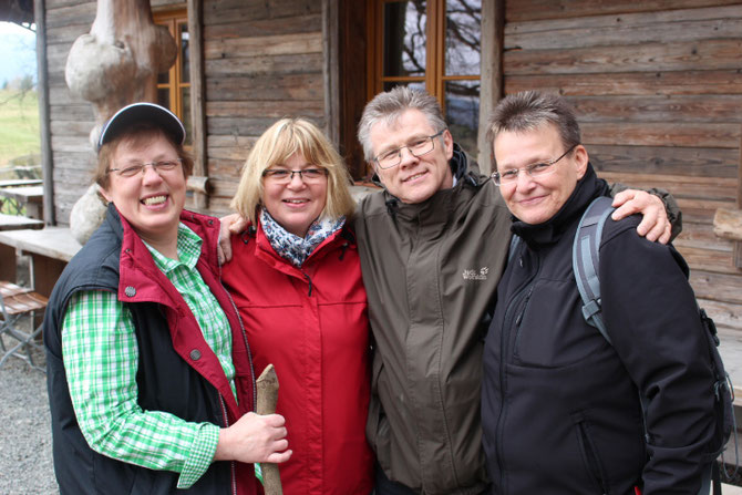 Marina Dettmer, Petra Schrader, Bernd Kassel, Petra Ballnus