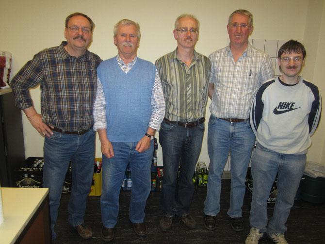 Okos, Fischer, Flemnitz, Gleitze und Bienert