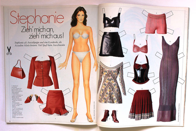 STEPHANIE SEYMOUR - ELLE Top Model 5/97 DM 9,50