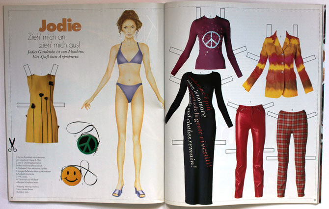 JODIE KIDD - ELLE Top Model 5/97 DM 6,00