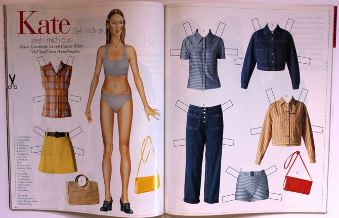 KATE MOSS - ELLE Top Model 3/97 DM 6,00