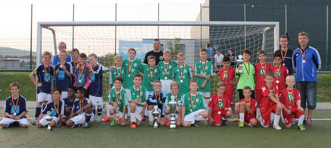 Bei den E-Junioren konnte sich der FC Alemannia Plaidt den Turniersieg sichern.
