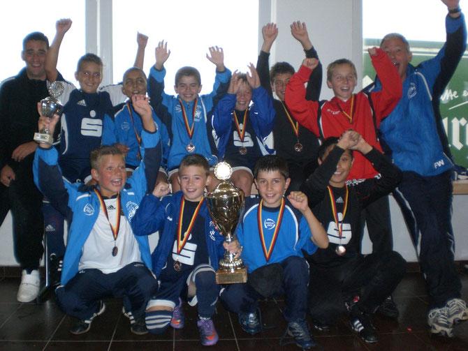 Die SG 99 Andernach gewann das Turnier der E-Junioren.