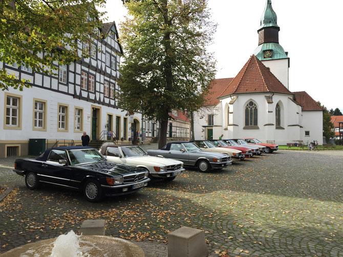 """Der """"Regionaltreff 26"""" verbrachte seine Mittagspause im Rahmen der Saison-Abschlussfahrt in Bad Essen"""