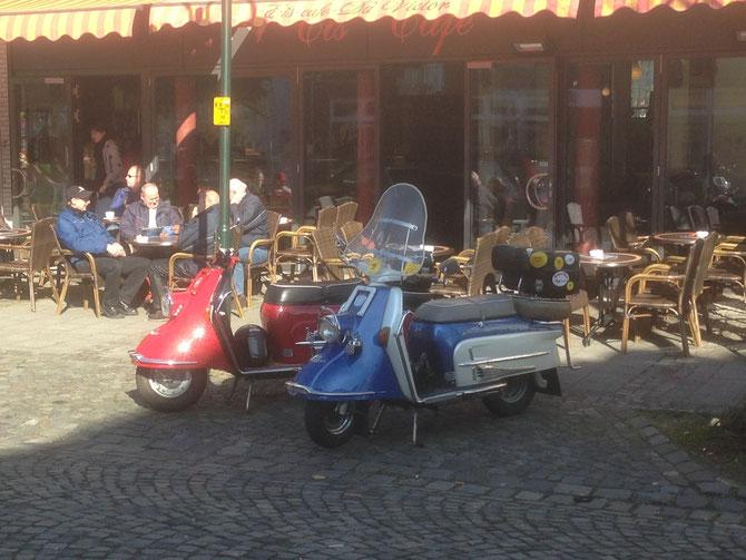 2 x Heinkel Tourist