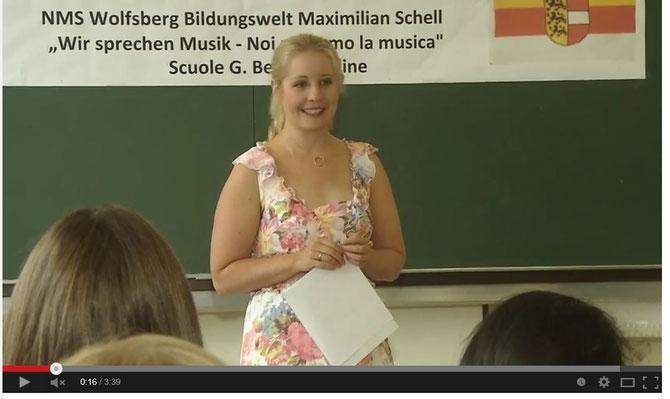 Schulfest der Bildungswelt Maximilian Schell: Kindergarten Reding, Volksschule und NMS Wolfsberg - Juli 2014