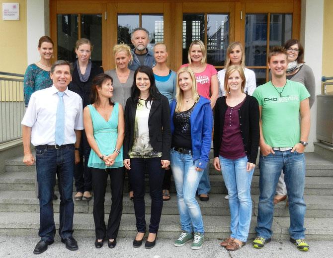 PädagogInnen Team Sommerakademie 2012