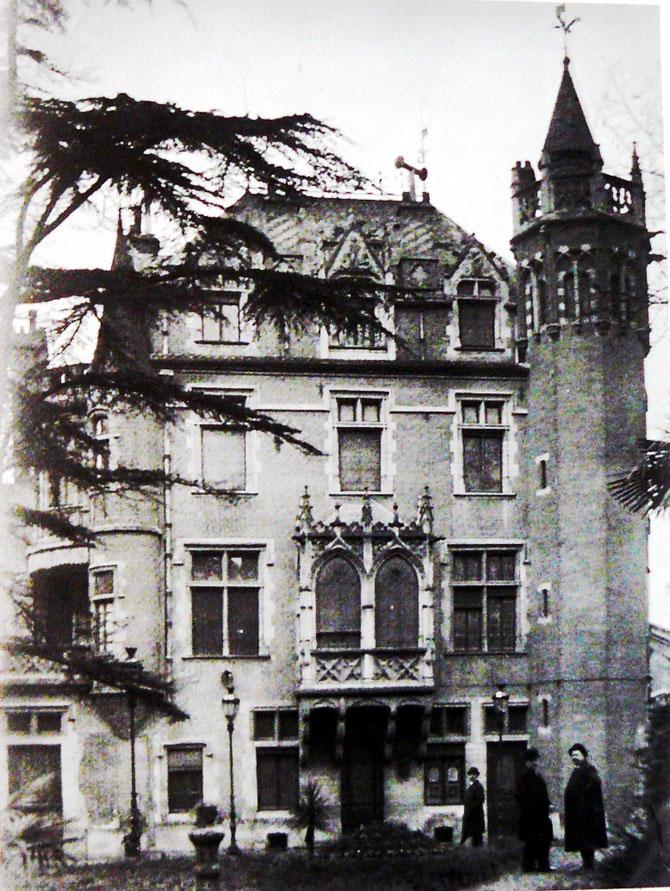 16 novembre 1913, visite des Toulousains de Toulouse