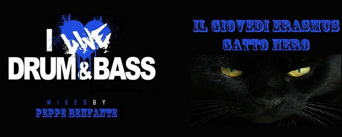Giovedi' erasmus Gatto nero - Drum & Bass party