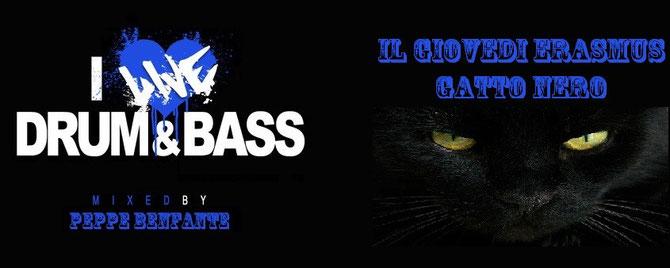 Giovedi' erasmus Gatto nero - Drum & Bass party
