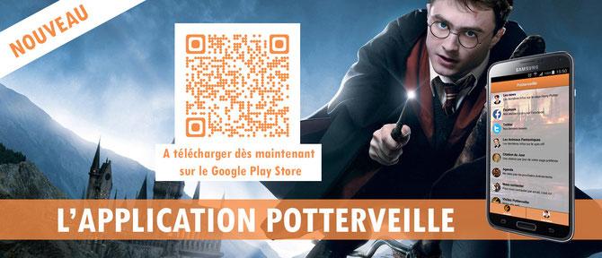 Pour télécharger l'application, flashez le QR Code ou cliquez sur la bannière !