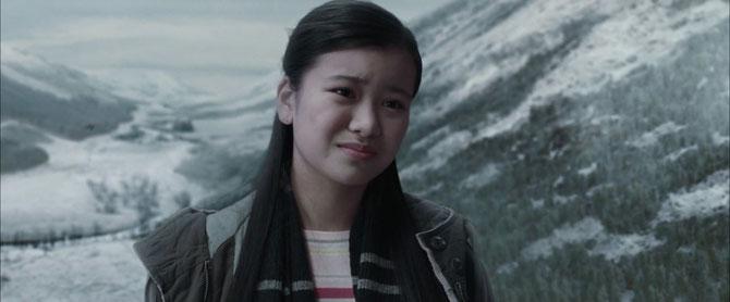 Cho Chang annonce à Harry qu'elle se rend au bal avec Cedric Diggory (Harry Potter et la Coupe de Feu - 2005)