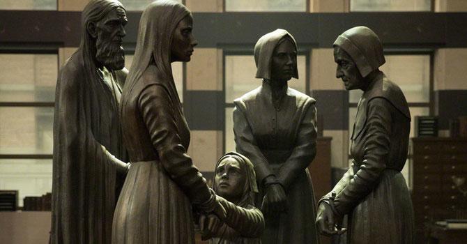 Le mémorial des sorcières de Salem au MACUSA
