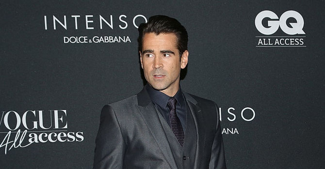 Colin Farrell, le 14 avril 2016, à la Mercedes-Benz Fashion Week (Automne / Hiver 2016) à Mexico