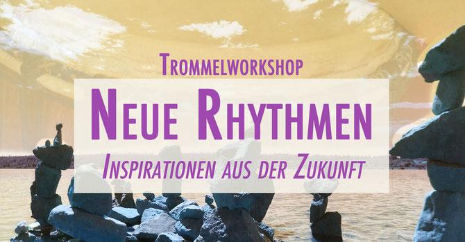 """""""Neue Rhythmen"""" Intensiv Trommelworkshop • Donnerstag 15. August 2019 • 19-21 Uhr • Trommelschule Yngo Gutmann, Leipzig"""