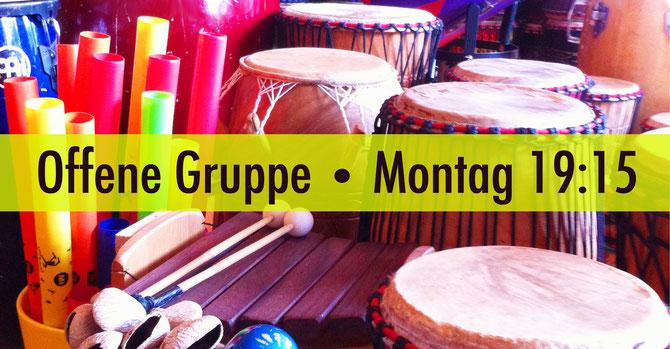 Offene Gruppe • Trommelschule Yngo Gutmann, Leipzig
