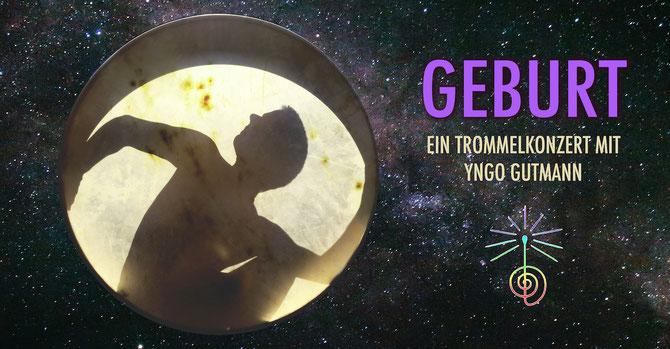 GEBURT Ein Trommelkonzert mit Yngo Gutmann • 21.09.2019 • Trommelschule Yngo Gutmann, Leipzig