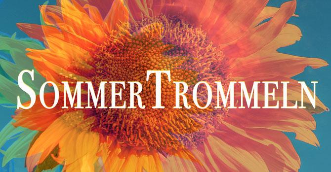 Sommertrommeln in der Trommelschule Yngo Gutmann • 25.7.2019 • 19-21 Uhr • www.trommel-kurse.de