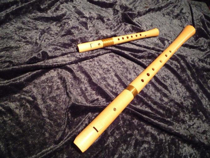 Historische Flöten