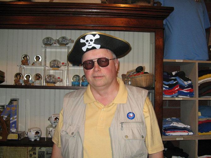 В пиратской лавке Галвестона (США)