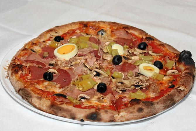 Pizza Isola Bella, Steinofen-Pizza