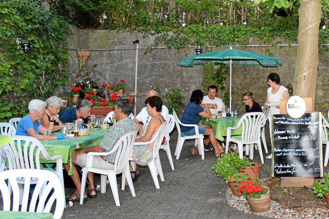 Biergarten Pizzeria Isola Bella in Tannenkirch