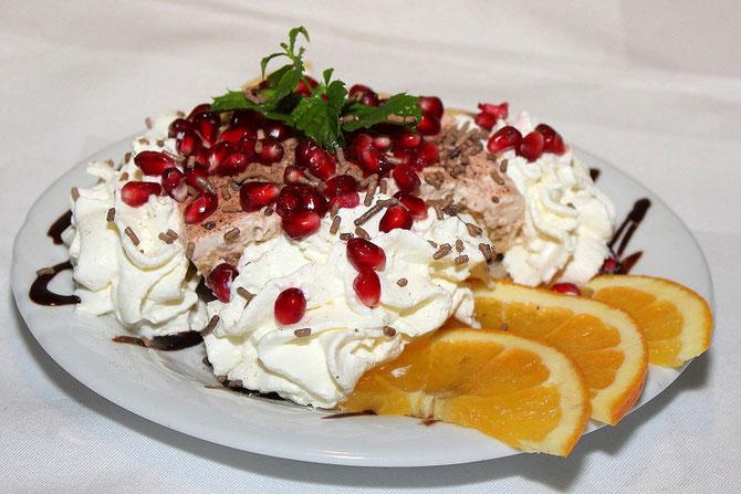 Italienisches Dessert